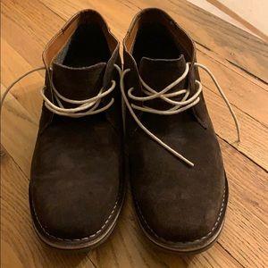 Size 13 Men's Kenneth Cole Reaction Suede Shoes